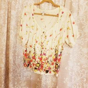 Beautiful floral cardigan